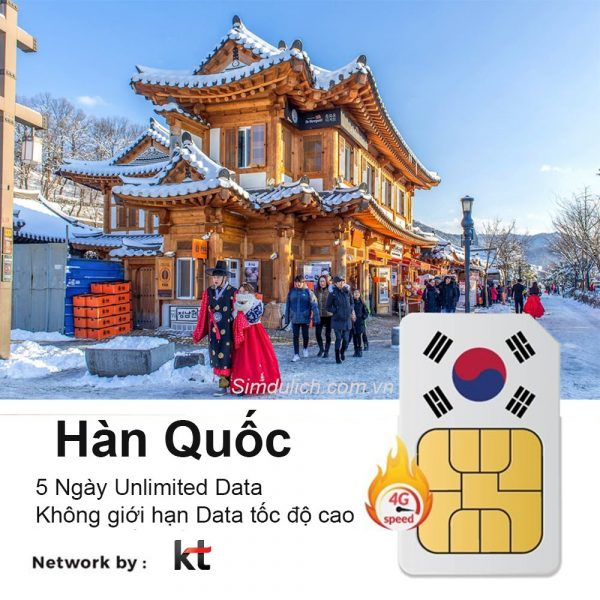 Sim du lich Han Quoc