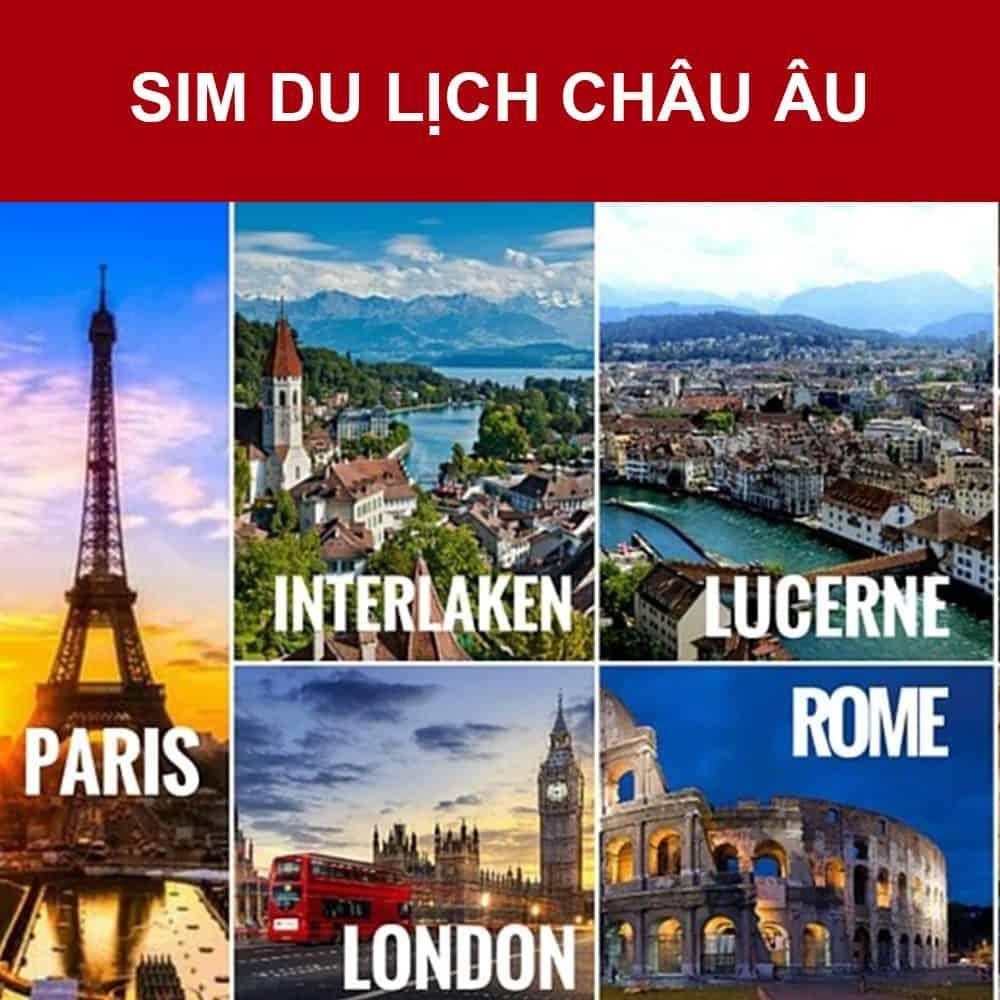 Mua sim du lịch Châu Âu ở Việt Nam