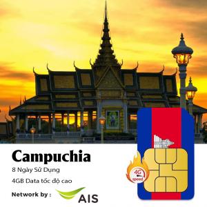 sim du lịch Campuchia