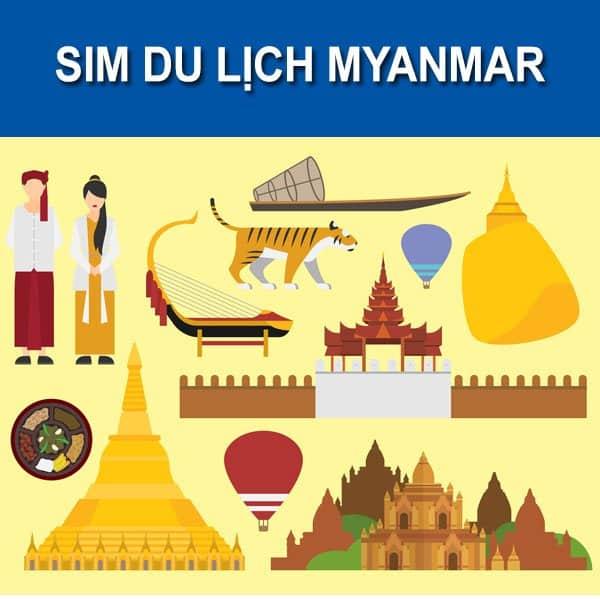Kết quả hình ảnh cho sim du lịch myanmar