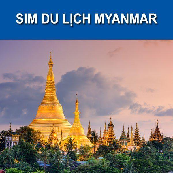 Sim du lịch Myanmar