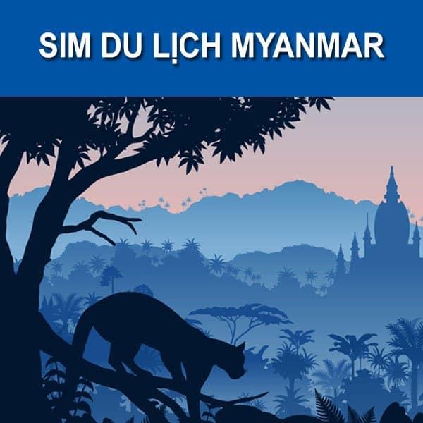 sim 4g ở myanmar