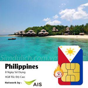 sim du lịch Philippines