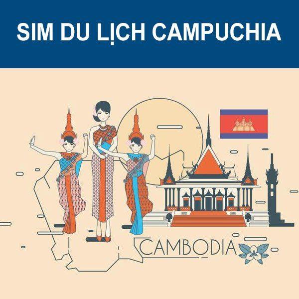 Mua Sim Du Lịch Campuchia