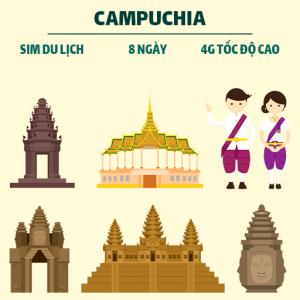 sim 3G/4G Campuchia