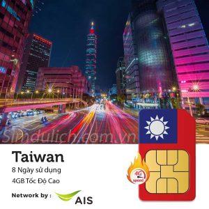 Mua sim 4G Đài Loan