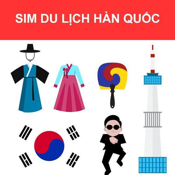 Mua sim du lịch Hàn Quốc