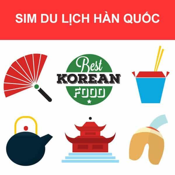 SIM Hàn Quốc giao nhận tại Việt Nam
