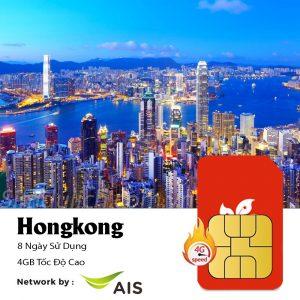 sim du lịch Hongkong