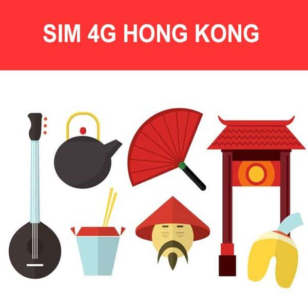 Sim 4G Hong Kong