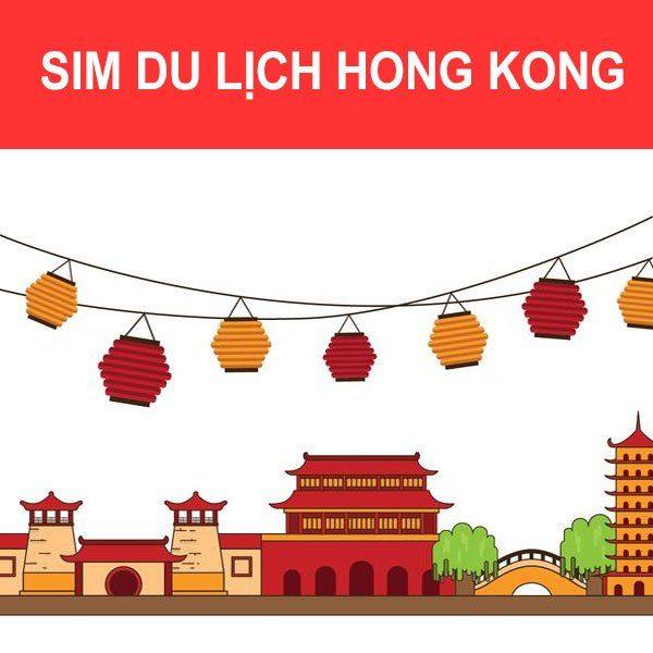 Sim du lịch hongkong giá rẻ