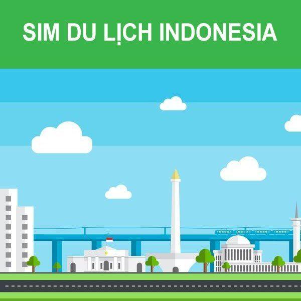 sim du lịch Indonesia 4G