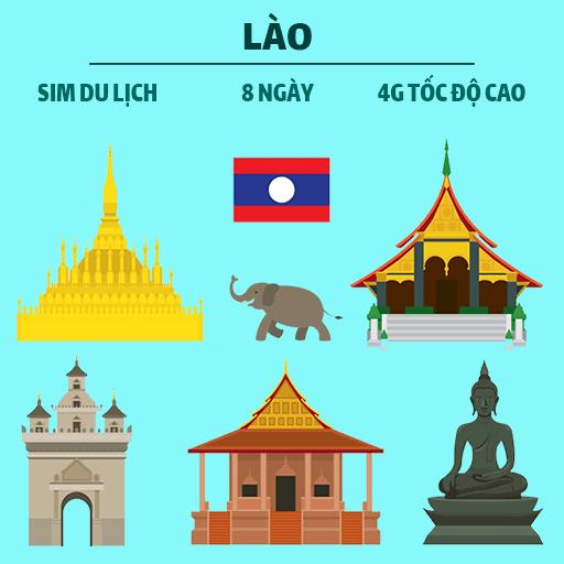 Sim 4G du lịch Lào