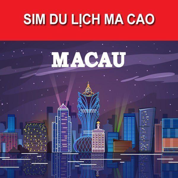 mua Sim Du Lịch Macau