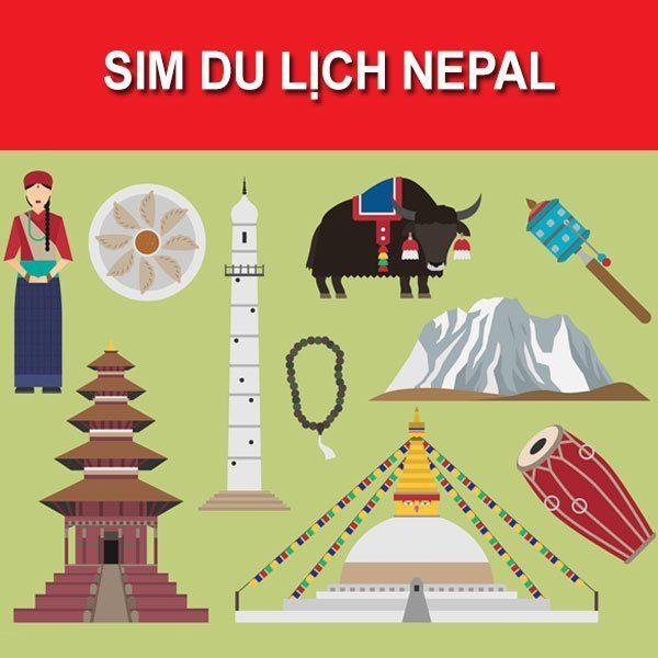 mua sim du lịch Nepal