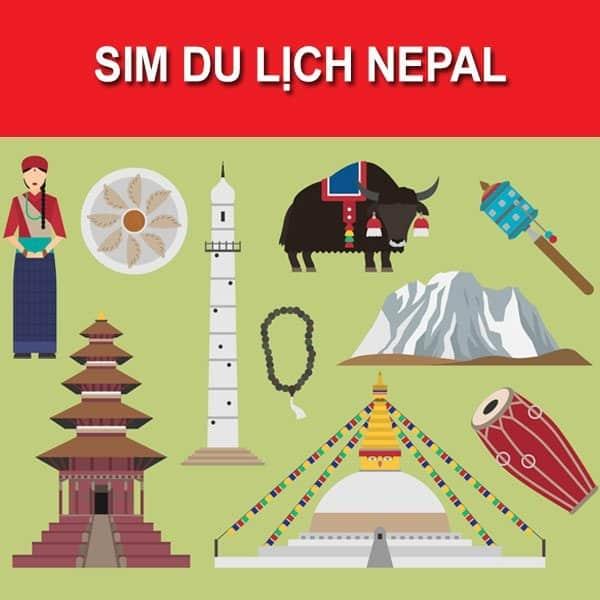 Sim du lịch Nepal