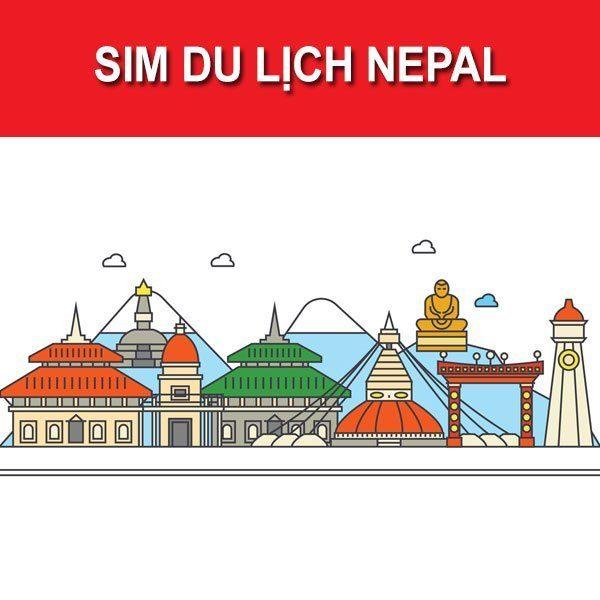 Sim 4G du lịch Nepal