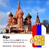 Sim du lịch Nga 30 ngày