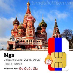 Sim du lịch Nga