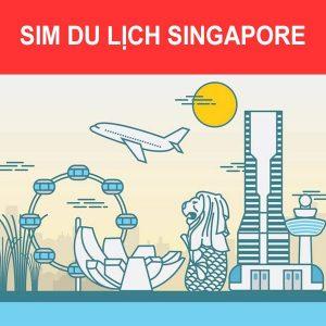 Mua Sim du lịch Singapore
