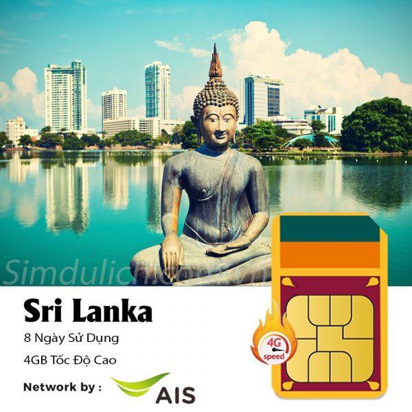 Sim du lịch Sri Lanka