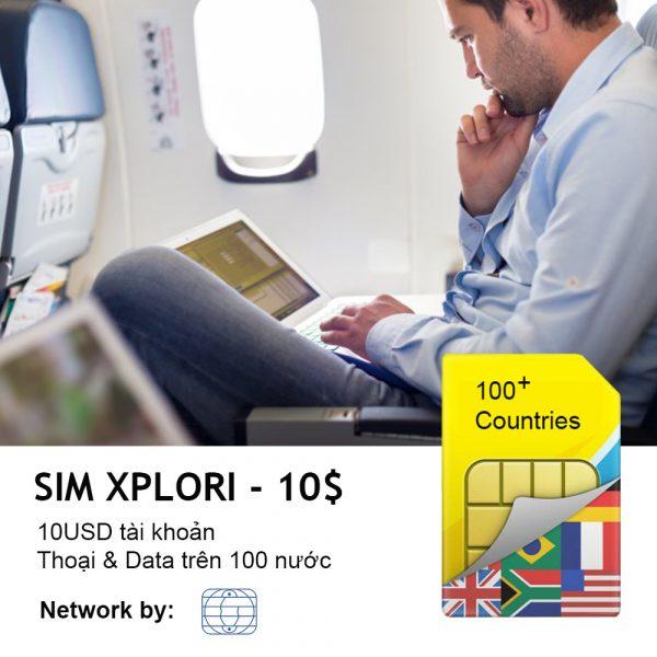 Sim 4G quốc tế