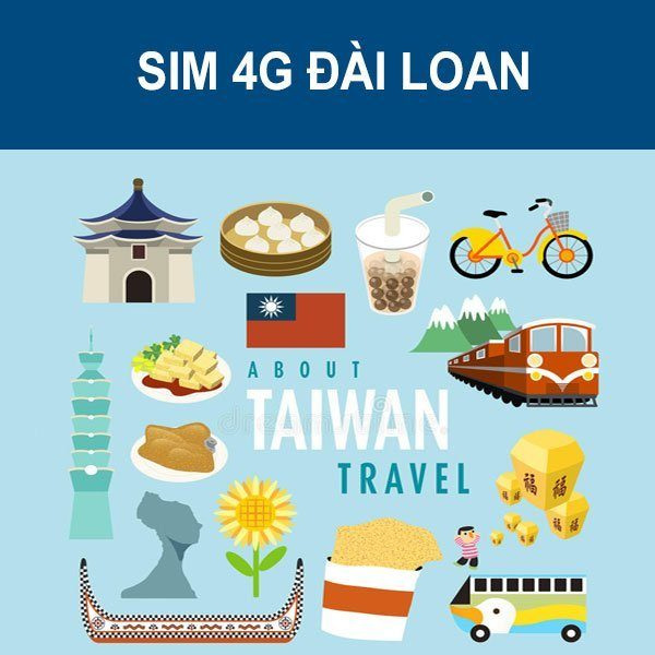 Sim 4G Đài Loan