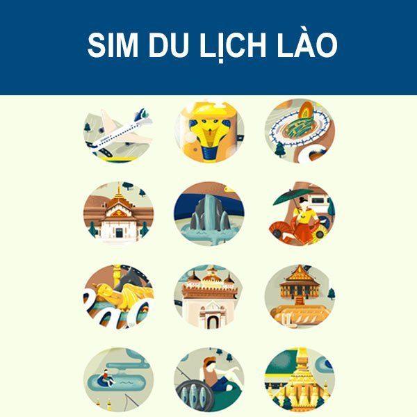 Mua sim du lịch Lào ở Việt Nam