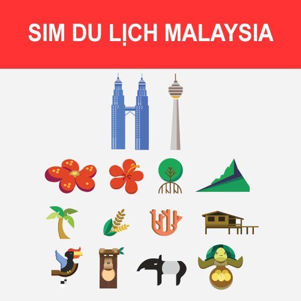 mua Sim du lịch Malaysia
