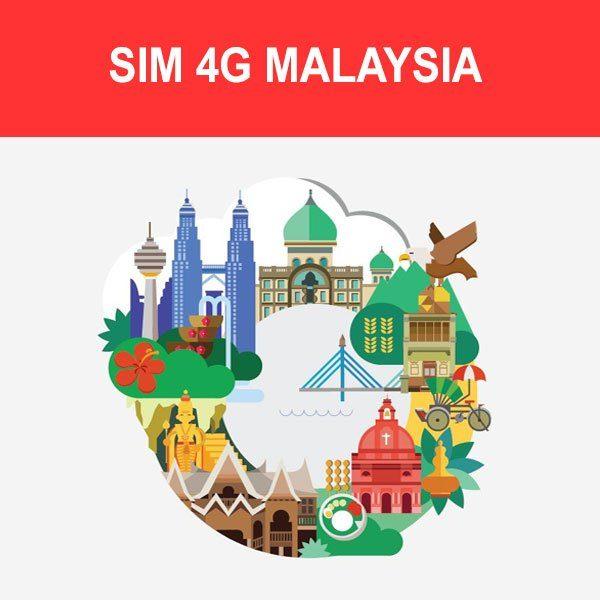 mua sim du lịch Malaysia ở Việt Nam