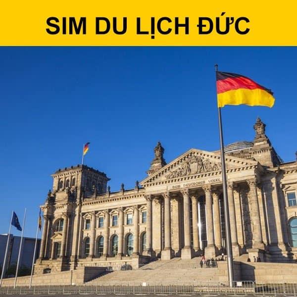 Mua sim du lịch Đức