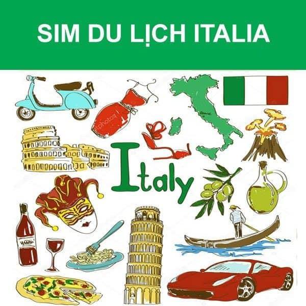 Sim du lịch italia