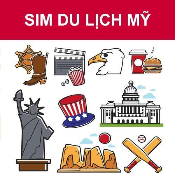 sim điện thoại Mỹ
