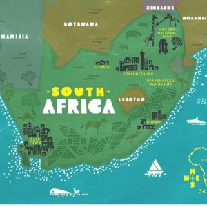 Sim du lịch Nam Phi
