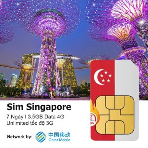 Sim du lich Singapore