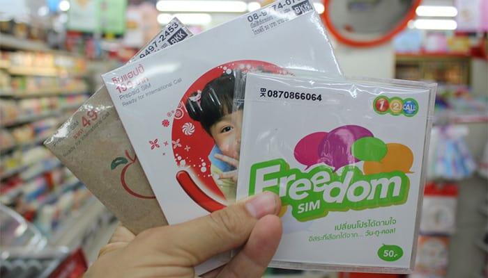 Mua SIM 4G Thái Lan