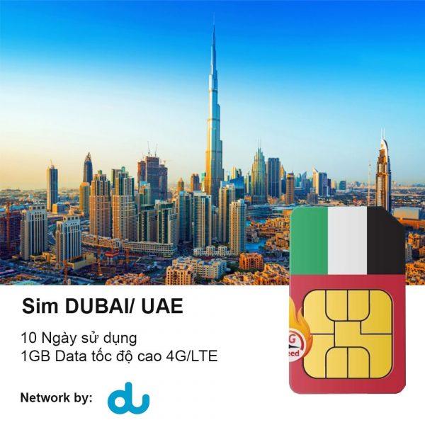 Sim Dubai 10 Ngay