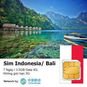 Sim du lich Bali Indo 7 ngay
