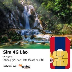 Sim 4G du lich Lao